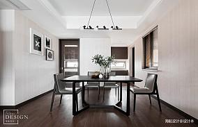 精美面积94平现代三居餐厅实景图片