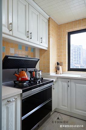 明亮113平法式三居厨房装饰美图