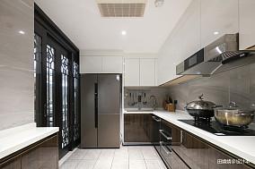 新中式loft公馆厨房设计图