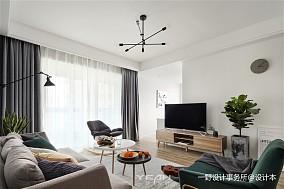 201899平米三居客厅北欧装修图片