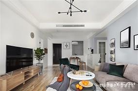 201895平米三居客厅北欧装修设计效果图片