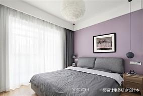 精选面积103平北欧三居卧室效果图