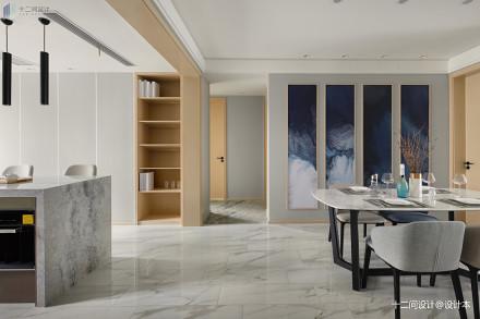 99平米三居餐厅混搭装修图片欣赏