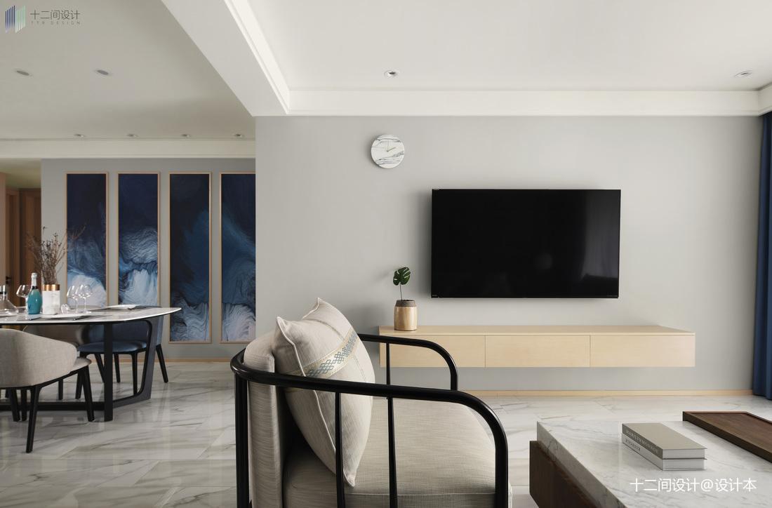 精美103平米3室混搭装修实景图片欣赏客厅潮流混搭客厅设计图片赏析
