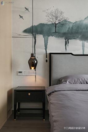 热门面积94平混搭三居卧室效果图片大全
