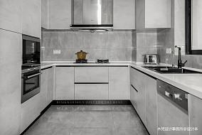 精选面积95平现代三居厨房装饰图片欣赏餐厅现代简约设计图片赏析