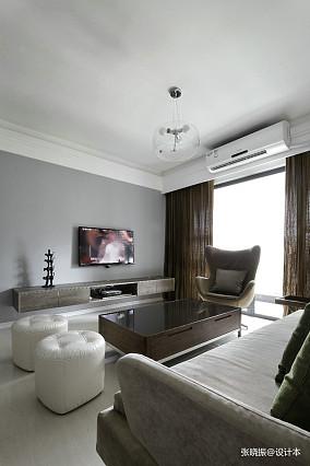 热门105平米三居客厅北欧效果图片欣赏