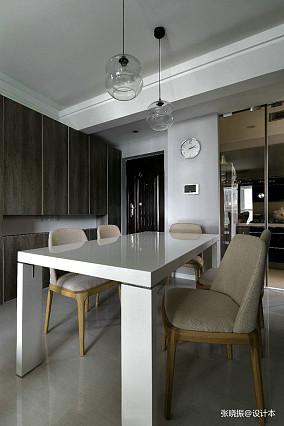 精美94平米三居餐厅北欧装修图片欣赏