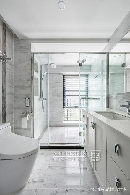 雅致现代四居卫生间设计卫生间