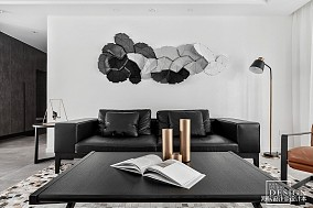 107平大小客厅三居现代装修欣赏图
