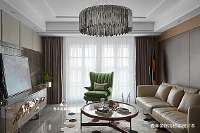 现代质感三居客厅设计