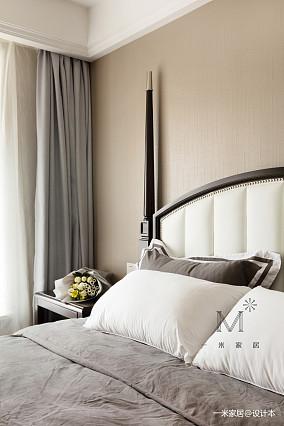华丽101平美式三居装饰图家装装修案例效果图