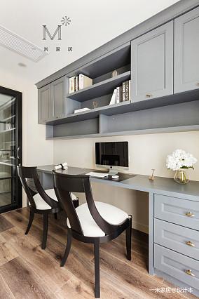典雅108平美式三居装修效果图三居美式经典家装装修案例效果图