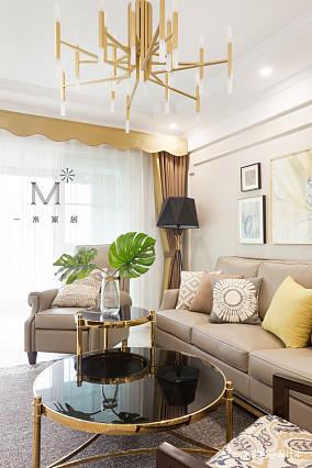 大气110平现代三居设计效果图三居现代简约家装装修案例效果图