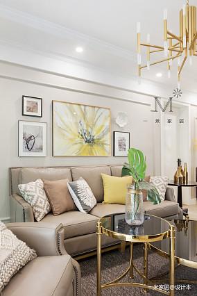 温馨129平现代三居装修图片三居现代简约家装装修案例效果图