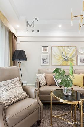 典雅105平现代三居装修装饰图三居现代简约家装装修案例效果图