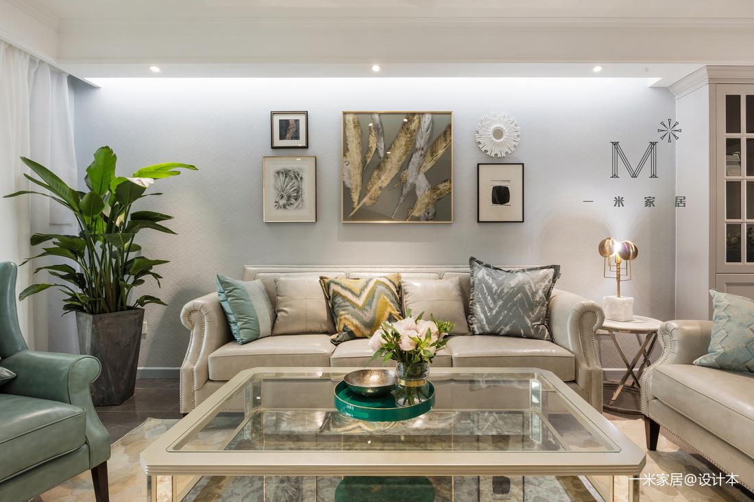 质朴91平现代三居图片大全客厅现代简约客厅设计图片赏析