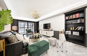 质朴80平美式三居装饰图片三居美式经典家装装修案例效果图