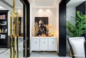 质朴83平美式三居装饰美图三居美式经典家装装修案例效果图