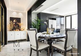 典雅115平美式三居实景图三居美式经典家装装修案例效果图