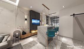 热门125平米简约别墅餐厅装修设计效果图
