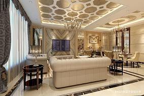 精美140平米欧式复式客厅装修效果图片
