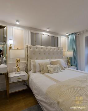 温馨60平简欧二居卧室实景图二居北欧极简家装装修案例效果图