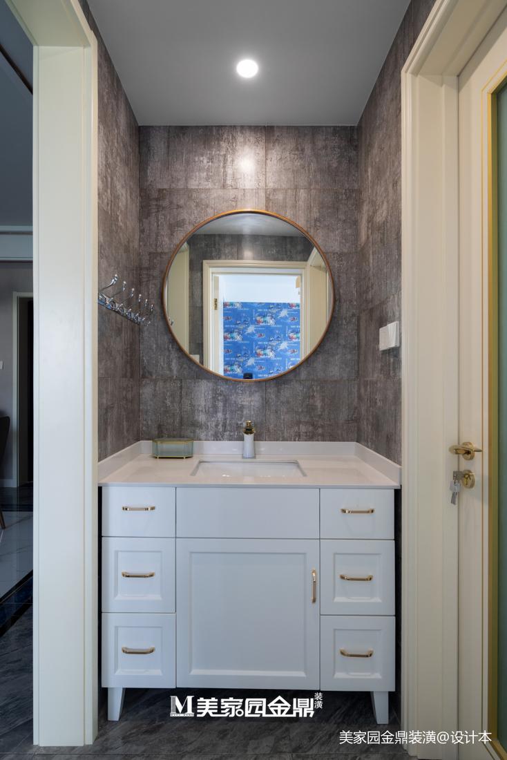 精选大小95平现代三居卫生间装修图卫生间