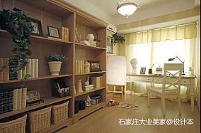 精选100平米三居书房欧式设计效果图