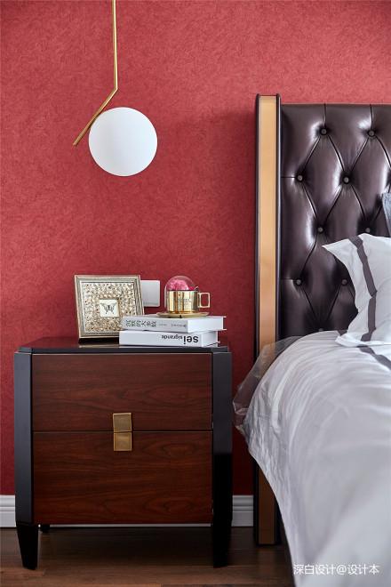 【深白设计】让你倍感舒适的家居风格卧室