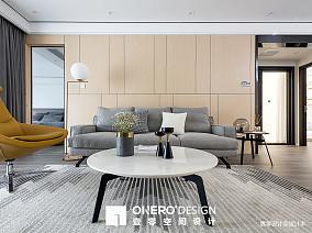 2018精选面积96平简欧三居客厅装饰图片大全