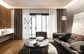 华丽121平北欧三居客厅装修图片三居北欧极简家装装修案例效果图