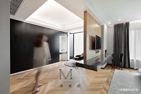 明亮105平北欧三居客厅装修图三居北欧极简家装装修案例效果图