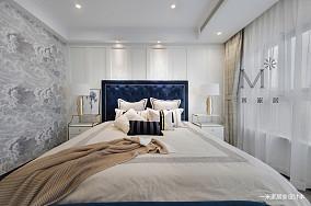 典雅70平美式三居装饰美图三居美式经典家装装修案例效果图