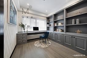 简洁125平美式三居客厅实拍图三居美式经典家装装修案例效果图