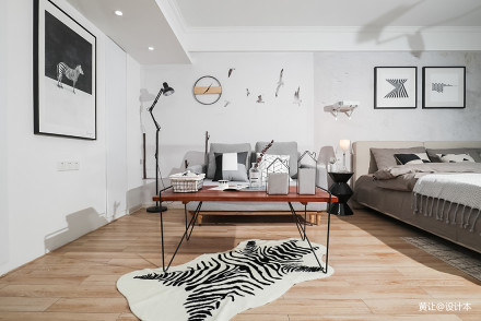 精选81平米现代小户型客厅效果图