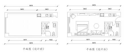 优雅38平现代小户型案例图