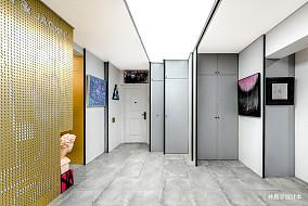 典雅22平现代小户型过道装修设计图功能区1图现代简约设计图片赏析