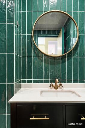 2018精选现代小户型卫生间装修图卫生间2图现代简约设计图片赏析