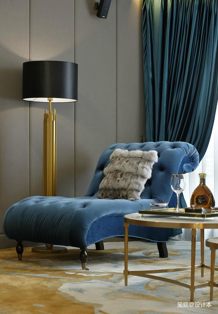 2018精选139平米美式别墅卧室装修实景图客厅美式经典客厅设计图片赏析