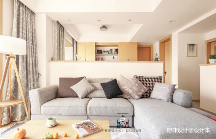 热门北欧三居客厅装修实景图片大全