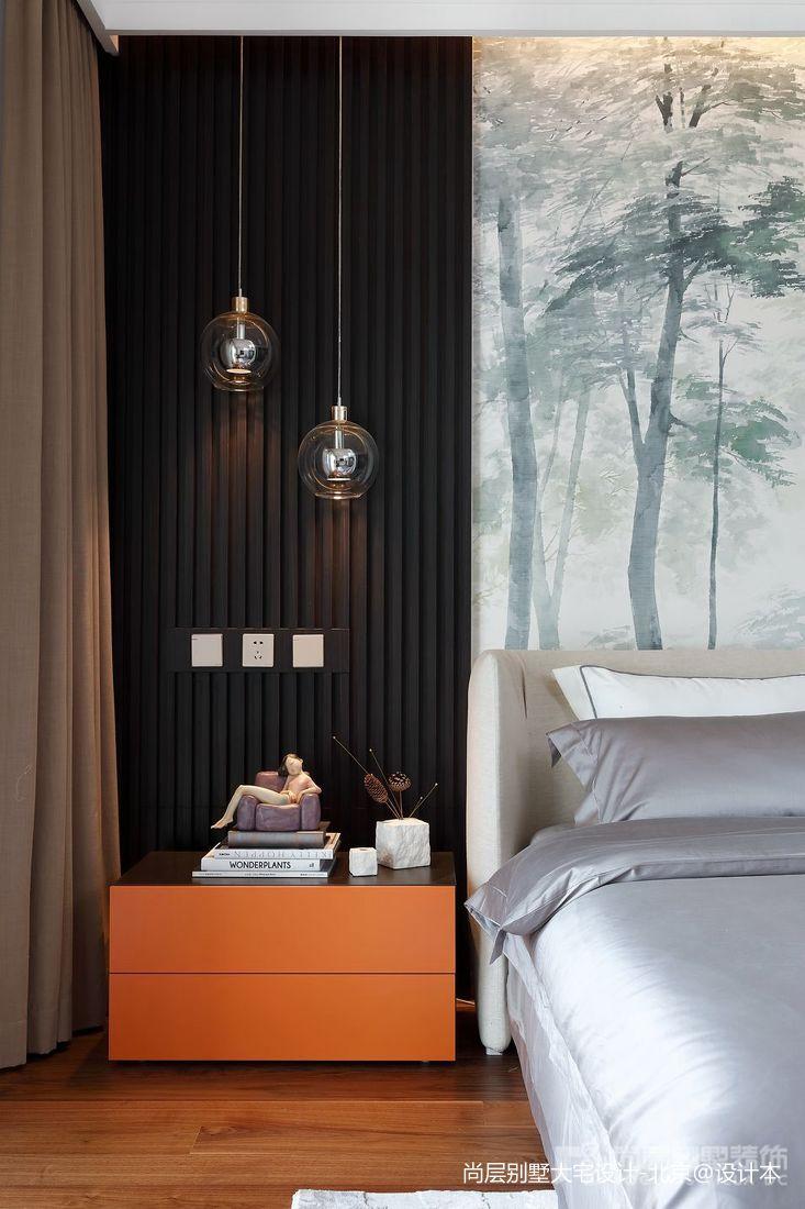 热门114平米中式别墅卧室效果图卧室2图中式现代卧室设计图片赏析