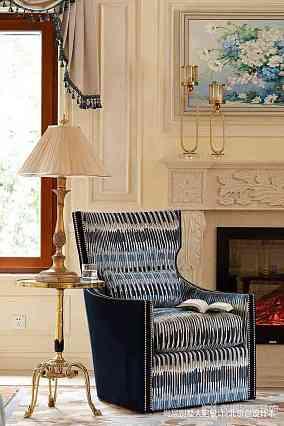 139平米中式别墅客厅装饰图片别墅豪宅中式现代家装装修案例效果图