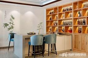 悠雅944平中式别墅实景图片别墅豪宅中式现代家装装修案例效果图
