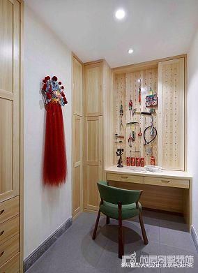 精美135平米中式别墅过道实景图片欣赏别墅豪宅中式现代家装装修案例效果图