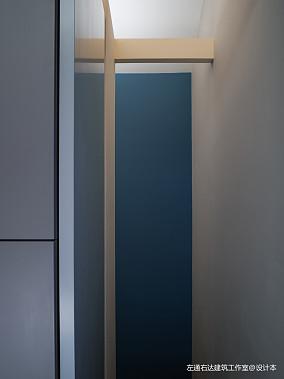 热门面积125平别墅过道现代装修设计效果图片