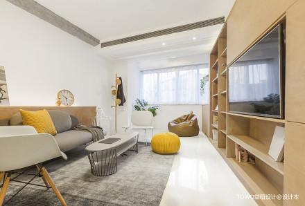 质朴31平北欧小户型客厅图片欣赏