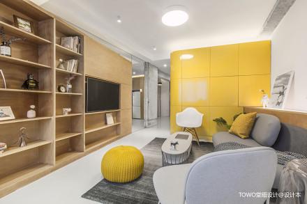 2018精选小户型客厅北欧效果图片