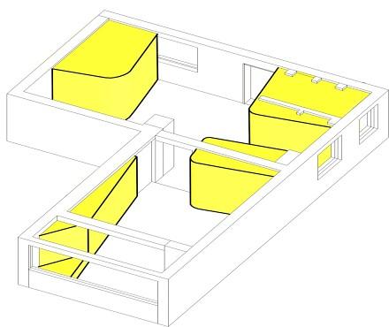 温馨33平北欧小户型案例图