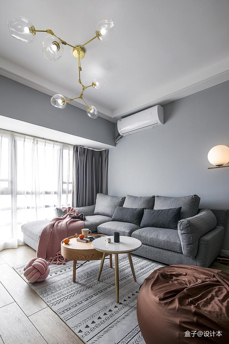热门98平米三居客厅北欧效果图客厅2图